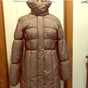 H&M puffer coat size 10
